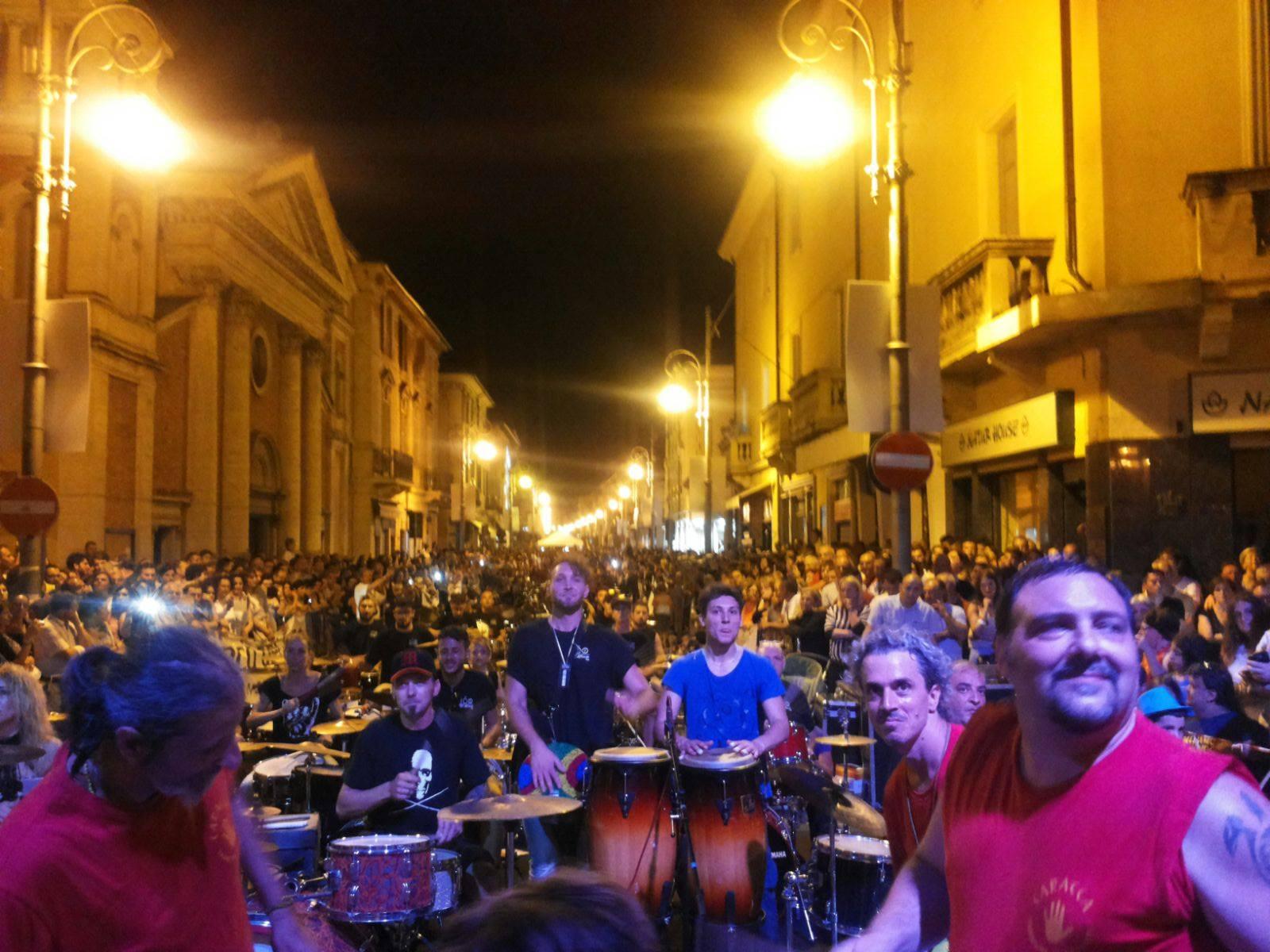 La Caracca a SOra - 100 batteristi