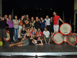 Foto del workshop con mestre chicote