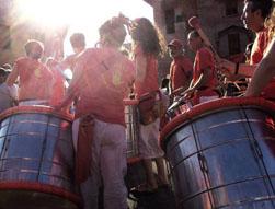 Foto della Caracca alla festa per la cultura 2013