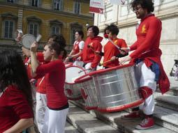 La Caracca alla Maratona di Roma 2011