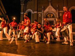 Foto della sfilata della Caracca a San Lorenzo