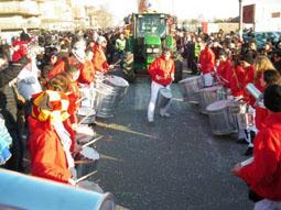 La Caracca al carnevale di Ostia 2012