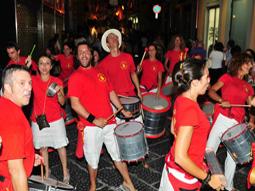 La Caracca al Carnevale estivo di Capua