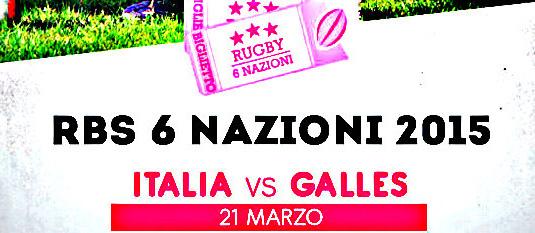 La Caracca 6 Nazioni:Italia-Galles